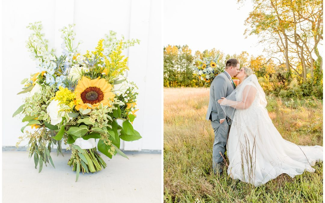 Lindsay & Zeke's Kylan Barn Wedding